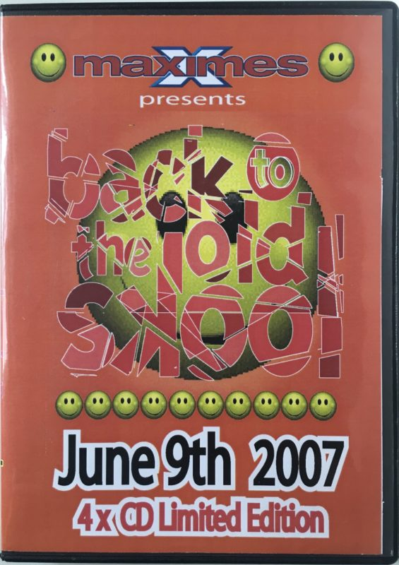 Back to the Old Skool June 2007 front