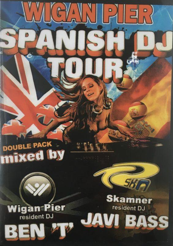 Wigan Pier Spanish DJ Tour front