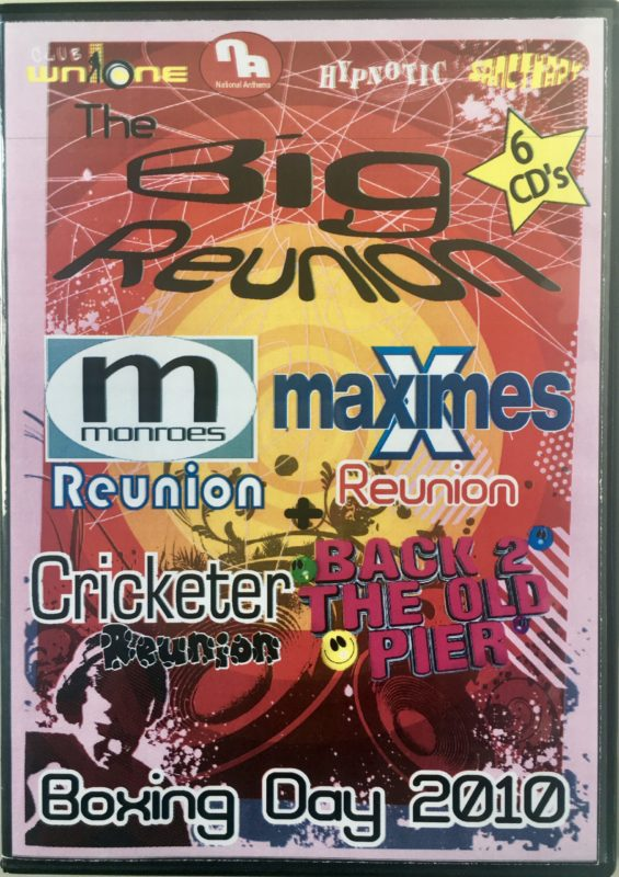 Maximes The Big Reunion - Boxing Day Allnighter 2010 front