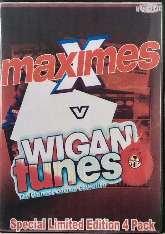 Maximes vs Wigan Tunes front
