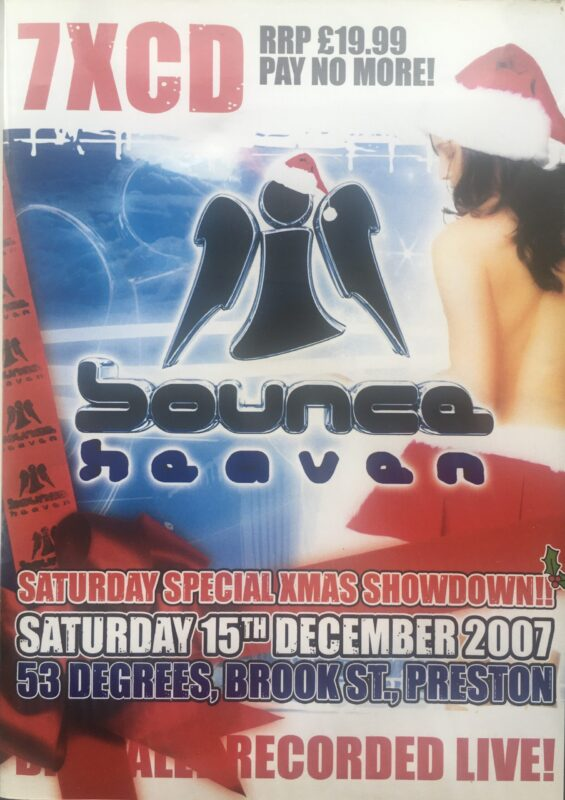 Bounce Heaven Xmas Special 15th December 2007 front